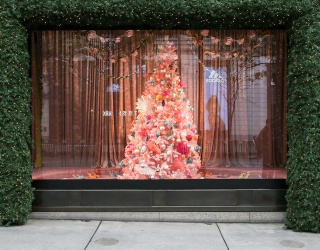 Selfridges London's Already Decorated for Christmas, and We're Not Mad About It