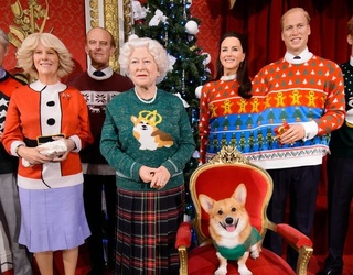 The Royal Family Dons Ugly Christmas Sweaters in the Name of Charity