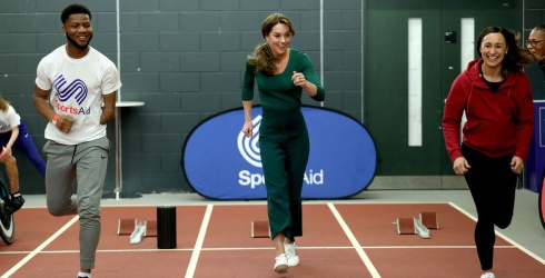 Kate Middleton's Sporty Green Outfit: Yay or Nay?