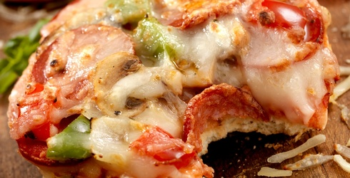 Two Great Things Are Combined For This Puzzle: Pizza and Bagels