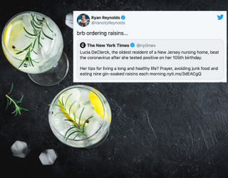 Tweets of the Week: What's This About Gin-Soaked Raisins?