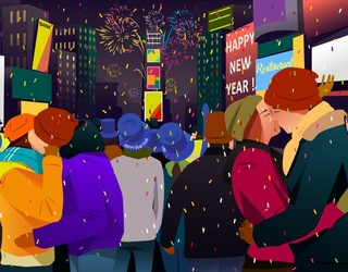 Don't Drop the Ball This New Year; Find All the Differences in These Time Square Photos