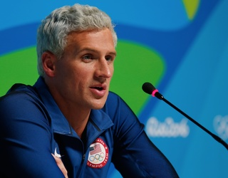 UPDATED: Ryan Lochte Is in Deep Water in Rio