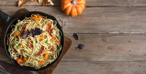 Take Pumpkin Spice From Breakfast to Dinner With These 8 Fall Pasta Dishes