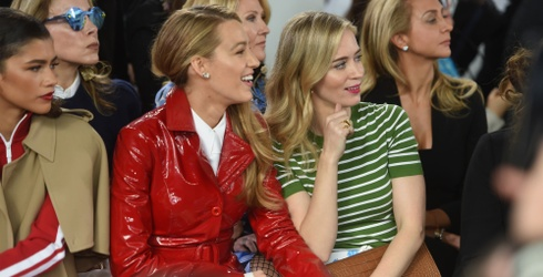 Channel Your Inner Miranda Priestly by Completing This Puzzle of Blake Lively & Emily Blunt at Fashion Week