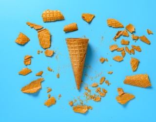 This Ice Cream Cone Puzzle Is Absolutely Smashing