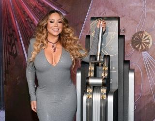 Mariah Carey Lights up the New York Sky to Celebrate Mariah Carey