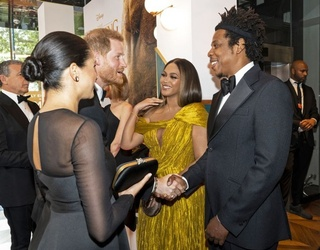 Can You Feel the Love Between Meghan Markle and Beyoncé?