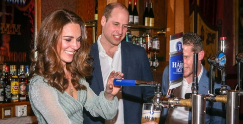 Will and Kate Popped Over to Belfast for a Spell; Let's Match Their Photos!