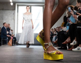 Kick off the Week With These High-Fashion Shoe Puzzles