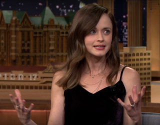 """Alexis Bledel Reveals Her Favorite """"Gilmore Girls"""" Characters With Jimmy Fallon"""