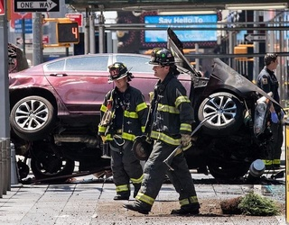 Fatal Times Square Car Accident Leaves 1 Dead, at Least 23 Injured