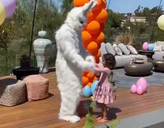 Already Famous: The Easter Bunny Came for Miles and Luna!
