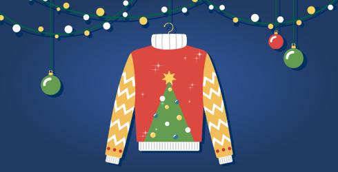 Gather Your Baubles and Tinsel to Build the Best Ugly Christmas Sweater of the Season