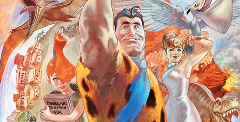 """Today I Learned That a Comic Book Adaptation of """"The Flintstones"""" Exists, And I Don't Know if I Like It"""