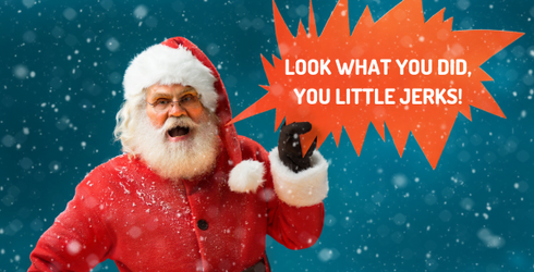 British Santa Has Meltdown at Family-Friendly Event, Lands Himself on Naughty List