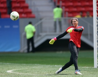 Hope Solo Has Been Suspended From U.S. Soccer