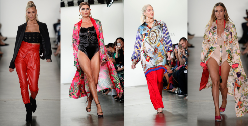 Beverly Hills Takes NYFW in a Puzzle That Basically Struts Itself Down the Runway