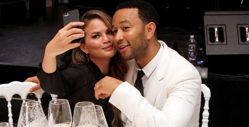 After the Longest Pregnancy Ever, Chrissy Teigen Presents Her Son to the World