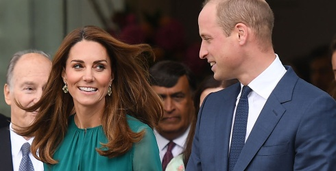 Prince William, Kate Middleton and Kate's Hair Visit the Aga Khan Center