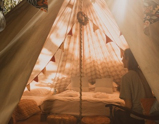 Travel Tuesday: What's Your Glamping Style?