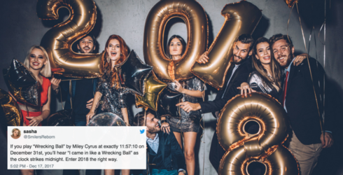 Start 2018 Off Right by Playing One of These Songs from Twitter Before Midnight on New Year's Eve