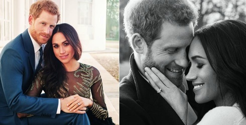 Prince Harry and Meghan Markle's Engagement Photos Are Here and They're V-E-R-Y Glamorous
