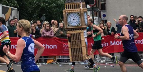 This London Marathoner's Costume Choice Took a...Toll