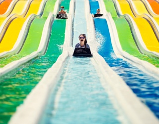 Don't Lose Your Goggles Going Down This Waterslide Puzzle