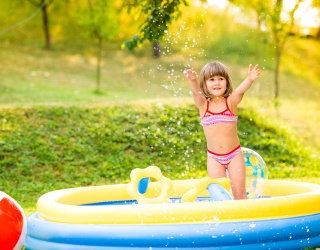 Monday Memory Madness: Catch up With These Kiddos Hangin' Poolside