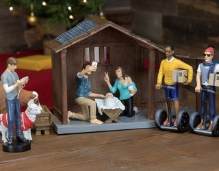 You Will Either Hate or Love Everything About This Nativity Set