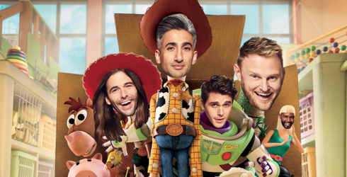 """Literally Just a Bunch of Pictures of the Cast of """"Queer Eye"""" Reimagined as Other People"""