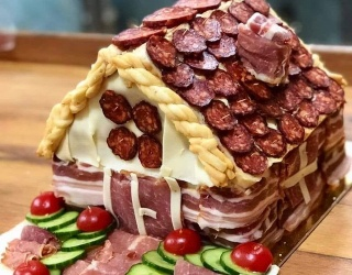 Move Over Gingerbread Houses -- Charcuterie Chalets Are the Savory Choice in 2020