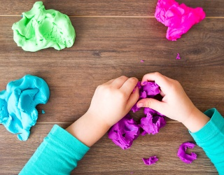 Monday Memory Madness: What Masterpieces Are You Building With This Play-Doh?