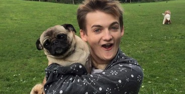 This Photoshop Battle of King Joffrey Hugging a Pug Is the Only Thing You Need to See Today
