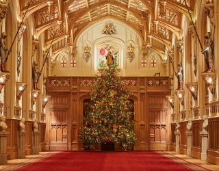 Christmas at Windsor Castle Is Rich in Royal History and Tradition