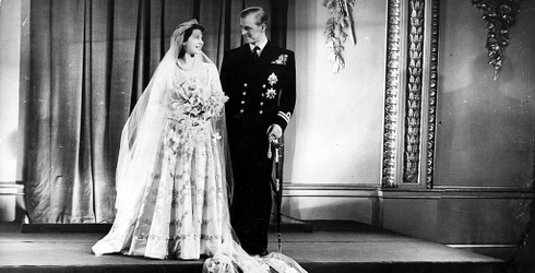Unscramble This Vintage Wedding Photo of the Queen and Prince Philip