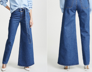 Are Asymmetrical Jeans Way out of Line or Juuust Daring Enough?