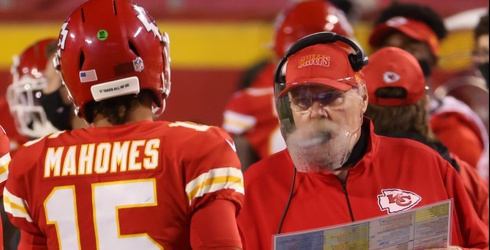 Literally Everyone Else Saw More of the NFL Opener Than Chiefs Coach Andy Reid