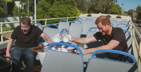 The Funniest Parts of James Corden's Interview With Prince Harry That WON'T Bum You Out