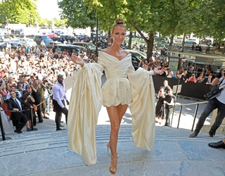 No One Is Feeling Themselves at Paris Fashion Week as Much as Celine Dion