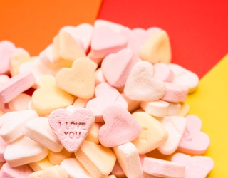 Let's Chat and Solve This Conversation Hearts Memory Match