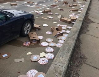 Pizza Lovers Mourn After a Pizza Pile-Up on an Arkansas Highway