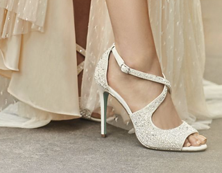 Betsey Johnson x David's Bridal Is the Dream Wedding Shoe Collab We've Always Needed