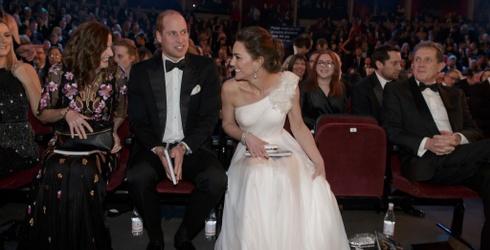 Royally Speaking: Kate Middleton's Inner Mom Monologue at the BAFTAs