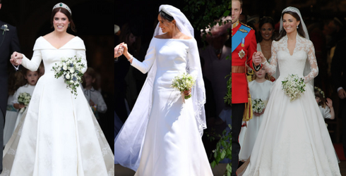 Playing Favorites: Eugenie, Meghan Markle and Kate Middleton's Royal Wedding Gowns