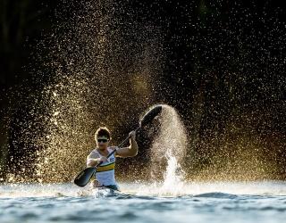 Need Help Training to Unscramble Murray Stewart's Olympic-Sized Paddle Splash?