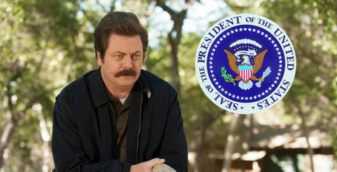 6 Reasons Why Ron Swanson Should Become President
