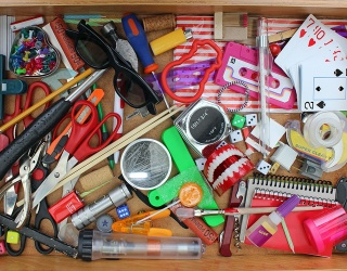 Put off Organizing Your Junk Drawer for Another Day and Find the Differences Instead