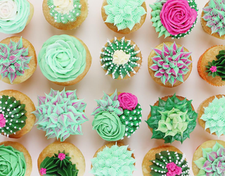 Tasty Tuesday: These Succulent Cupcakes Make It Feel Like Spring Has Truly Sprung
